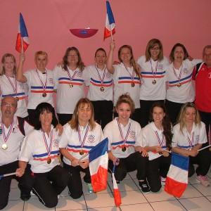 Féminines championne de France