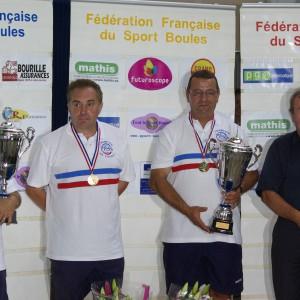 Champions de France double – Grenoble 2011