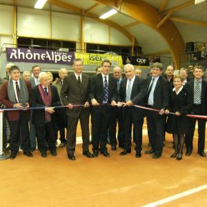 Inauguration du boulodrome