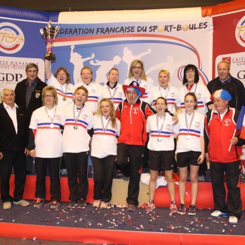 Féminines Ch. de France N1
