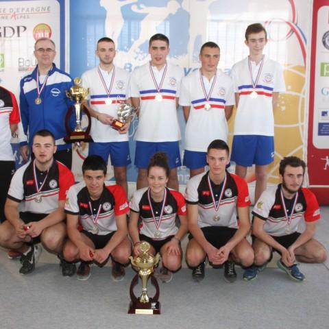 Club 18 ans Sous champions de France