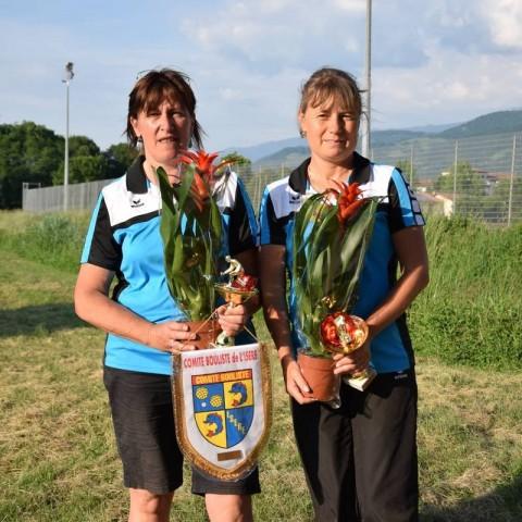 Double F3 Championnes de l'Isère