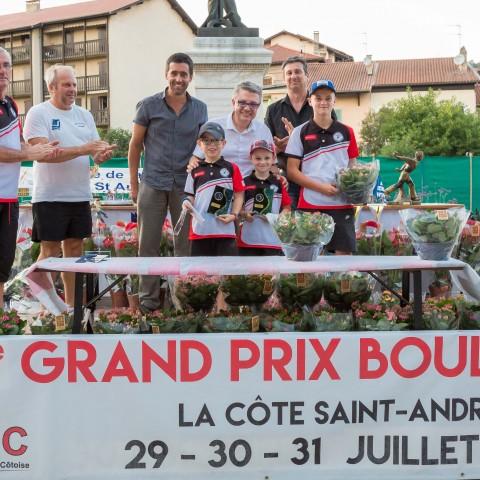Grand Prix 2017 – Gagnants 11 ans