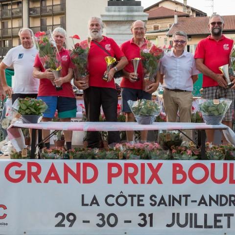 Grand Prix 2017 – Gagnants Vétérans