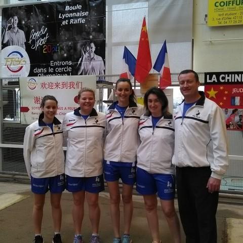Nos féminines en équipe de France