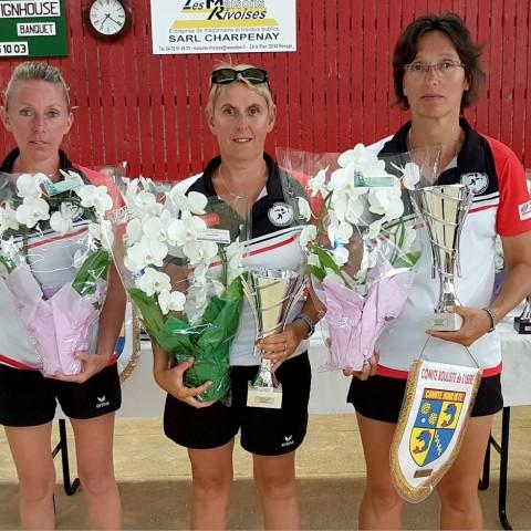 Triple F1+2 Championnes de l'Isère