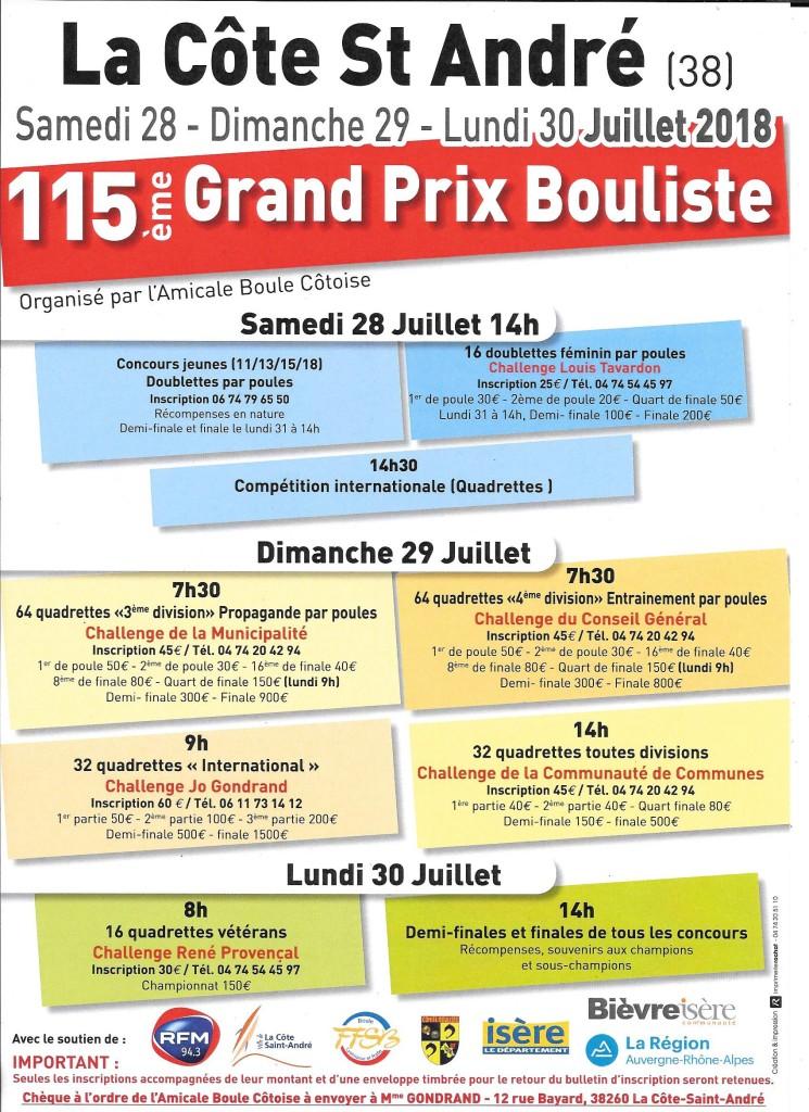 Affiche GP2018
