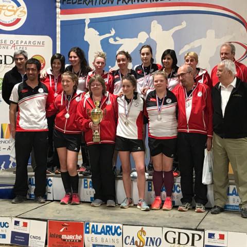 CLUBS Sportifs Finalistes Elite Féminines