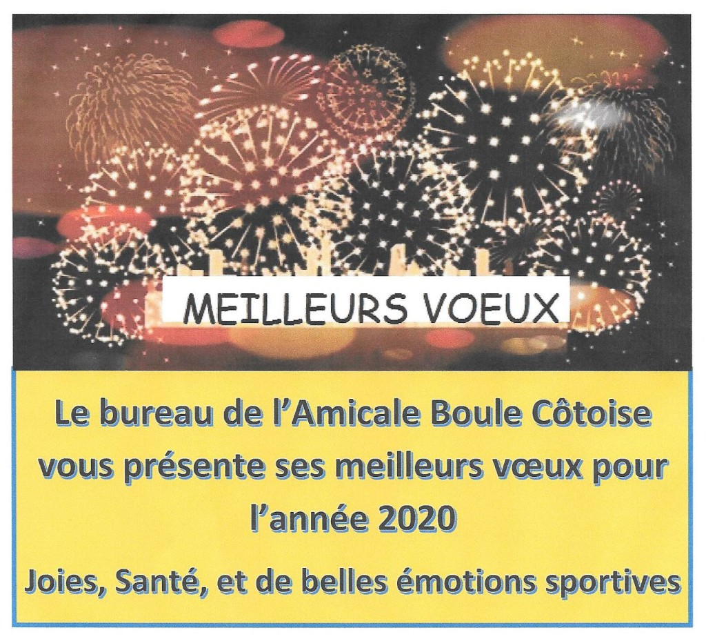 VOEUX 2020 phpto